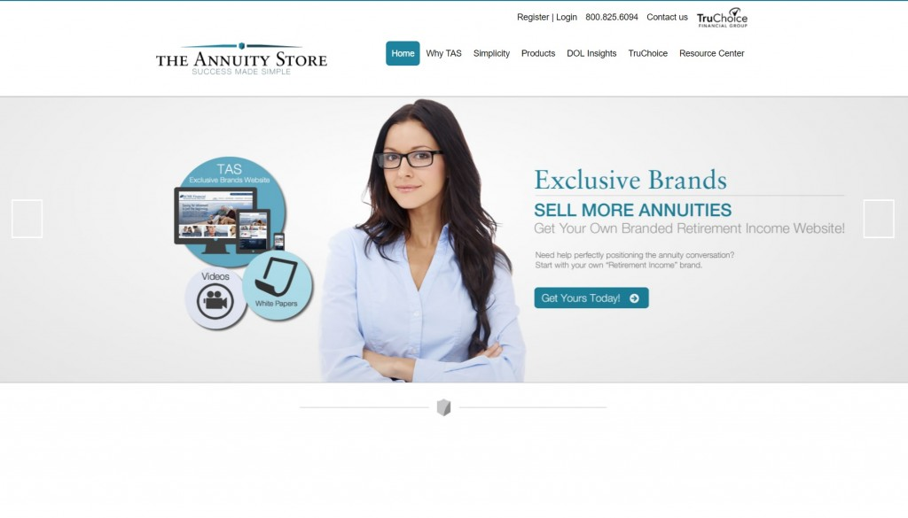 The Annuity Store Homepage 1