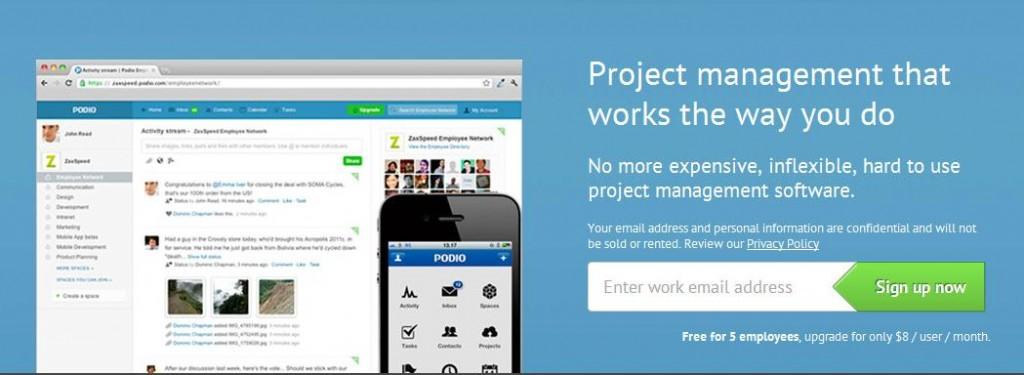 Web Design Sample Landing Page 1